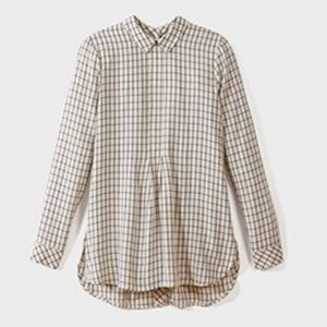 J. Jill Buttoned-Back Shirttail Tunic